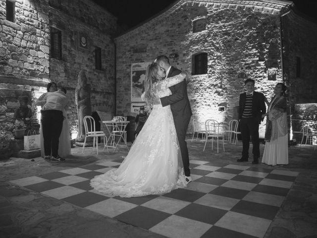 Il matrimonio di Damiano e Veronica a Canossa, Reggio Emilia 45