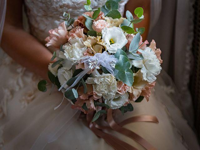 Il matrimonio di Mattia e Elisa a Brenta, Varese 16