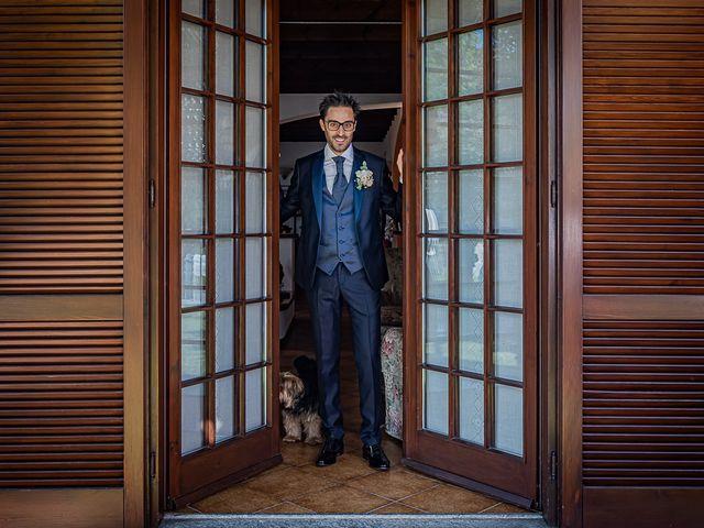 Il matrimonio di Mattia e Elisa a Brenta, Varese 28