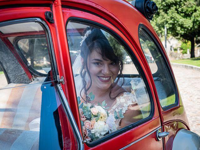 Il matrimonio di Mattia e Elisa a Brenta, Varese 30