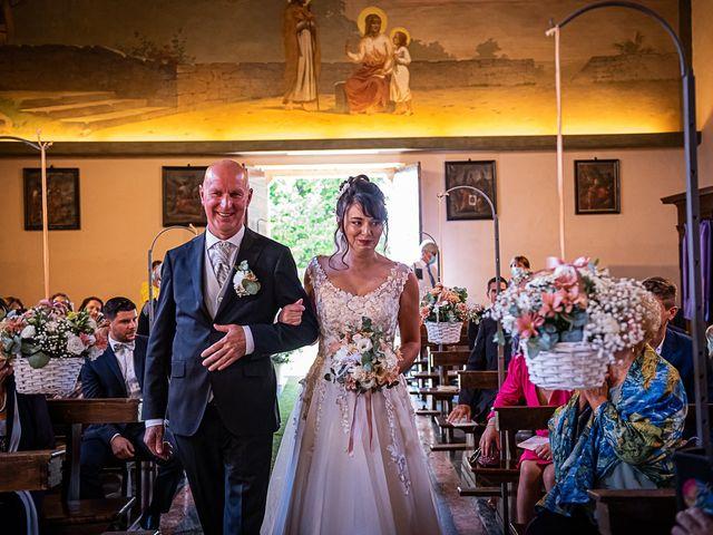 Il matrimonio di Mattia e Elisa a Brenta, Varese 33