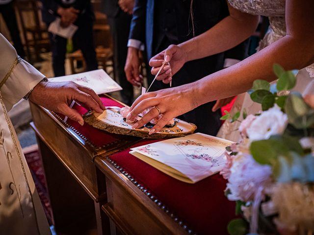 Il matrimonio di Mattia e Elisa a Brenta, Varese 36