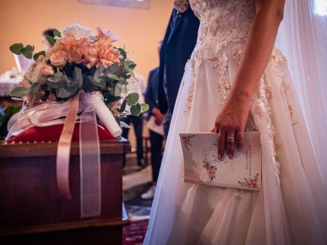 Il matrimonio di Mattia e Elisa a Brenta, Varese 37