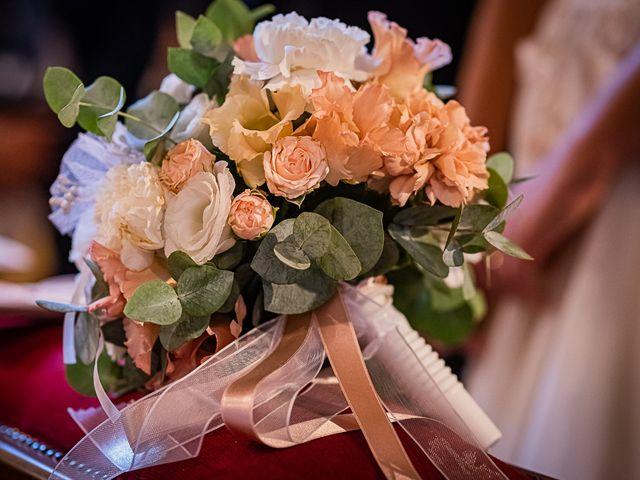 Il matrimonio di Mattia e Elisa a Brenta, Varese 38