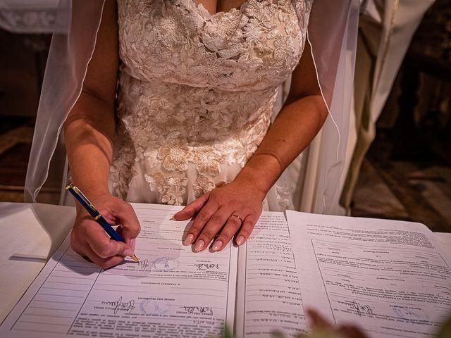 Il matrimonio di Mattia e Elisa a Brenta, Varese 41