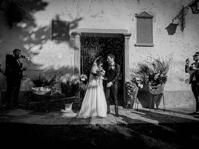 Il matrimonio di Mattia e Elisa a Brenta, Varese 44