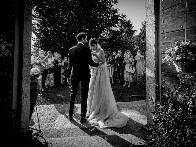 Il matrimonio di Mattia e Elisa a Brenta, Varese 45