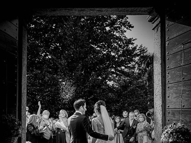 Il matrimonio di Mattia e Elisa a Brenta, Varese 47