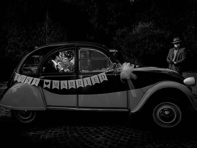 Il matrimonio di Mattia e Elisa a Brenta, Varese 1