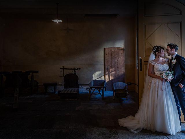 Il matrimonio di Mattia e Elisa a Brenta, Varese 48
