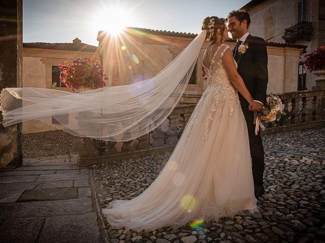 Il matrimonio di Mattia e Elisa a Brenta, Varese 51