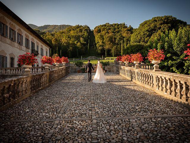 Il matrimonio di Mattia e Elisa a Brenta, Varese 52