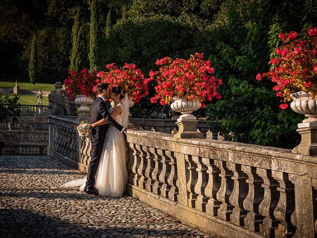 Il matrimonio di Mattia e Elisa a Brenta, Varese 53