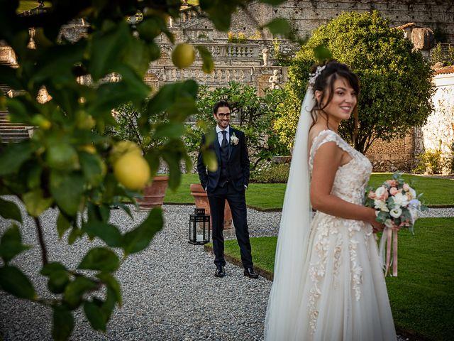 Il matrimonio di Mattia e Elisa a Brenta, Varese 55