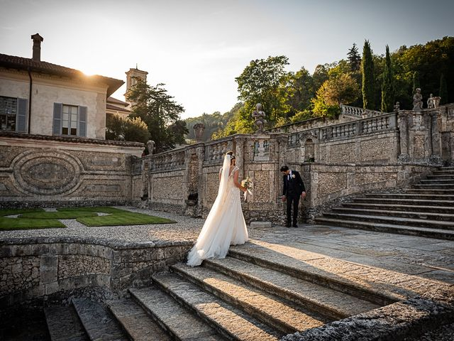 Il matrimonio di Mattia e Elisa a Brenta, Varese 57