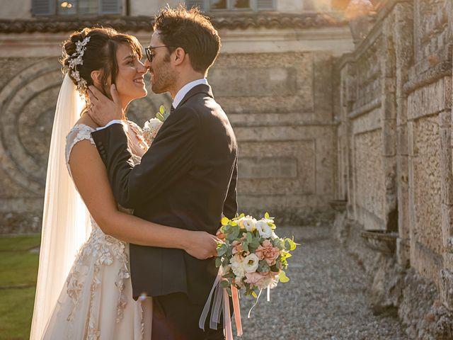 Il matrimonio di Mattia e Elisa a Brenta, Varese 59