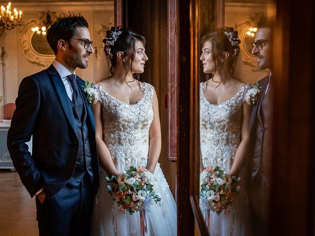Il matrimonio di Mattia e Elisa a Brenta, Varese 60