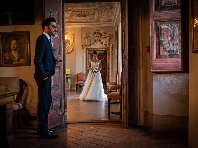 Il matrimonio di Mattia e Elisa a Brenta, Varese 62