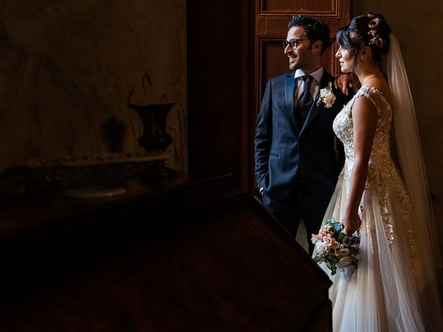 Il matrimonio di Mattia e Elisa a Brenta, Varese 64