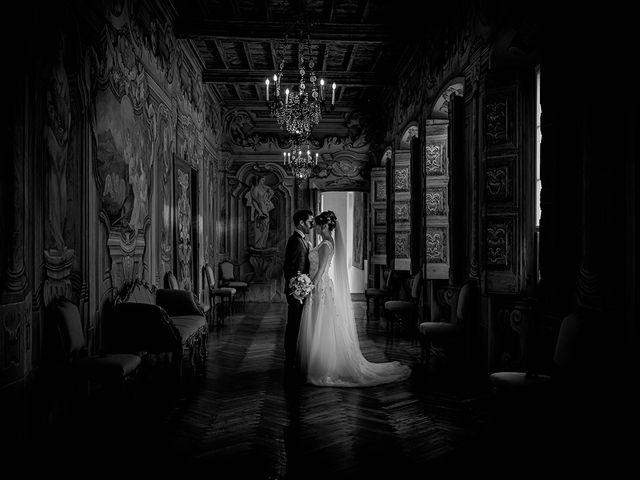 Il matrimonio di Mattia e Elisa a Brenta, Varese 66