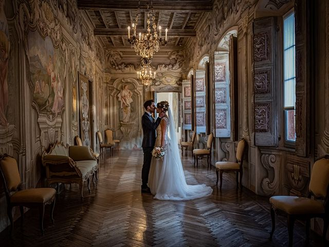 Il matrimonio di Mattia e Elisa a Brenta, Varese 67
