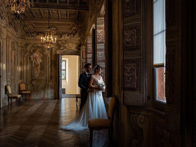Il matrimonio di Mattia e Elisa a Brenta, Varese 68