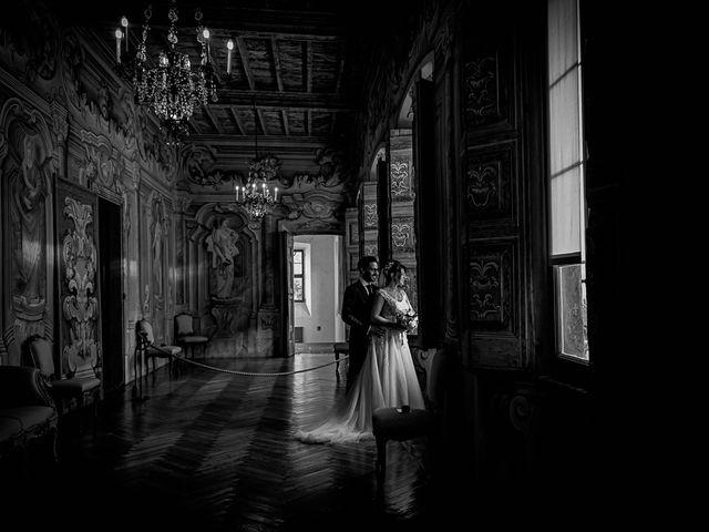 Il matrimonio di Mattia e Elisa a Brenta, Varese 69