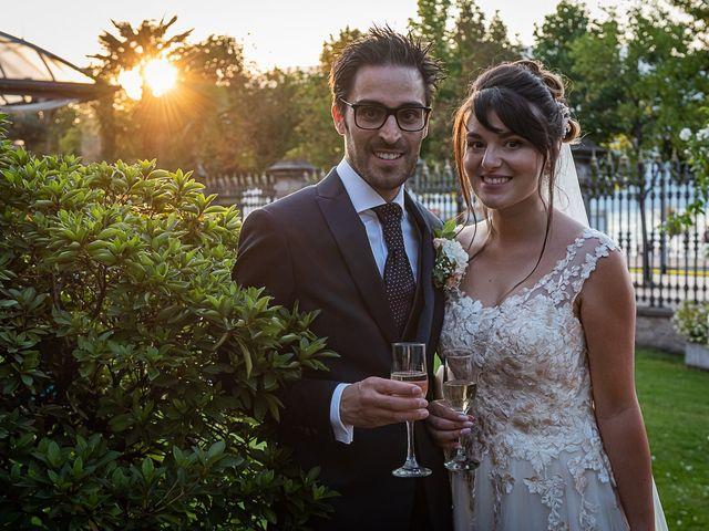 Il matrimonio di Mattia e Elisa a Brenta, Varese 73