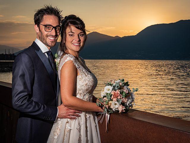 Il matrimonio di Mattia e Elisa a Brenta, Varese 74