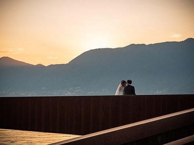 Il matrimonio di Mattia e Elisa a Brenta, Varese 76
