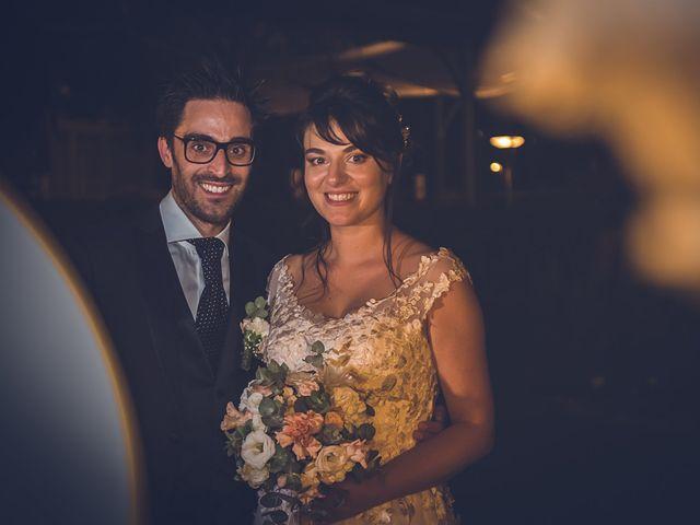 Il matrimonio di Mattia e Elisa a Brenta, Varese 80
