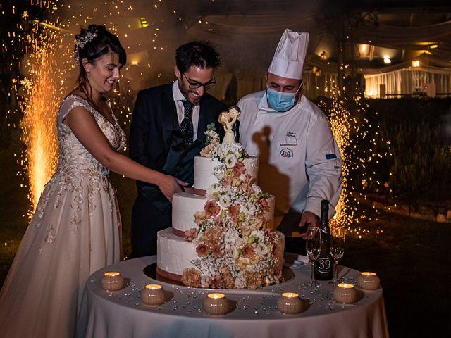 Il matrimonio di Mattia e Elisa a Brenta, Varese 81