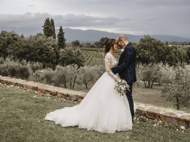 Il matrimonio di Dario e Rosa a Montevarchi, Arezzo 57
