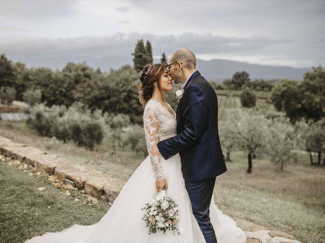 Il matrimonio di Dario e Rosa a Montevarchi, Arezzo 58