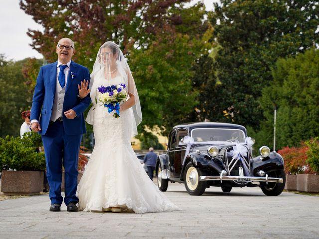 Il matrimonio di Andrea e Noemy a Robbio, Pavia 25