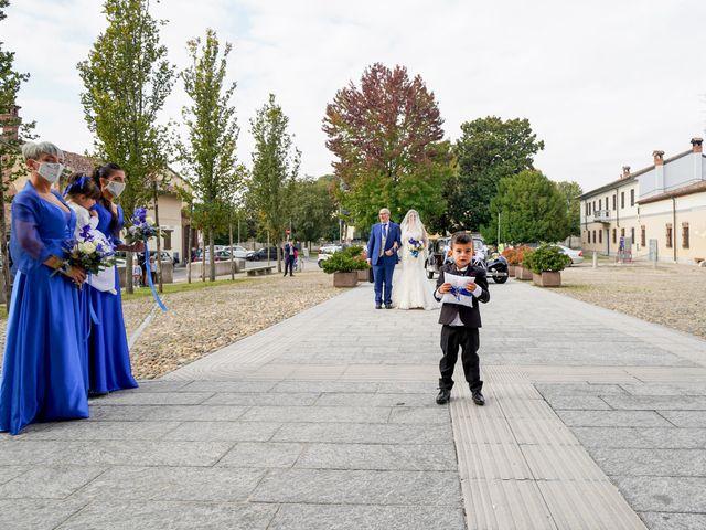 Il matrimonio di Andrea e Noemy a Robbio, Pavia 26