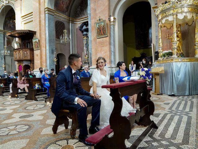 Il matrimonio di Andrea e Noemy a Robbio, Pavia 30