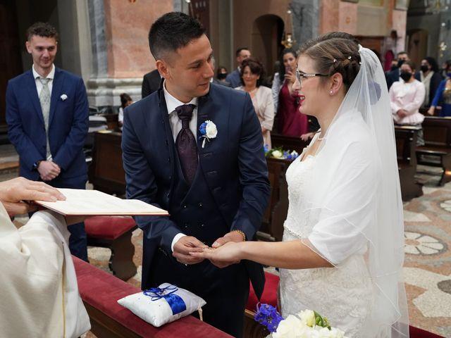Il matrimonio di Andrea e Noemy a Robbio, Pavia 32