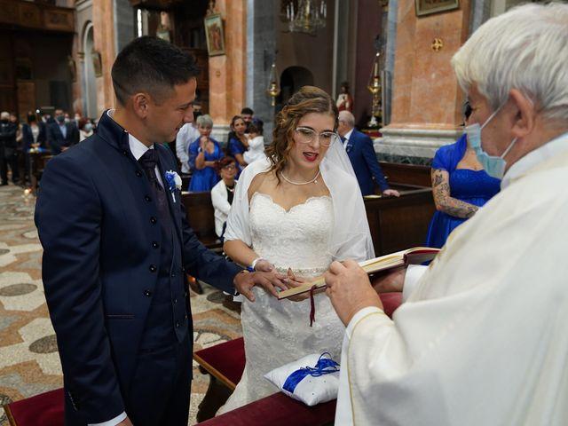 Il matrimonio di Andrea e Noemy a Robbio, Pavia 33