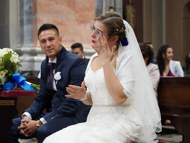 Il matrimonio di Andrea e Noemy a Robbio, Pavia 35