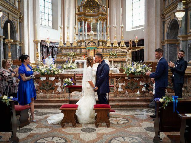 Il matrimonio di Andrea e Noemy a Robbio, Pavia 38