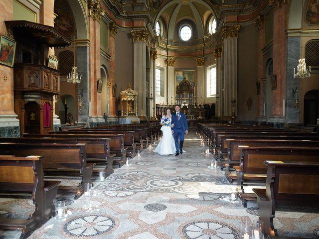 Il matrimonio di Andrea e Noemy a Robbio, Pavia 39