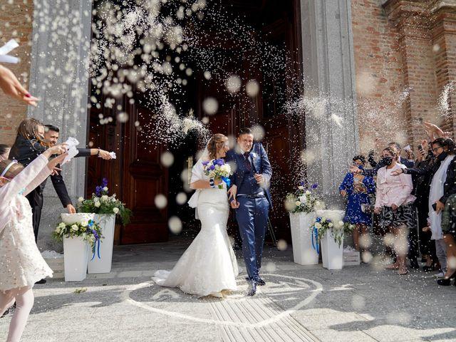 Il matrimonio di Andrea e Noemy a Robbio, Pavia 40