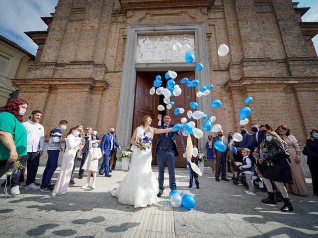 Il matrimonio di Andrea e Noemy a Robbio, Pavia 41