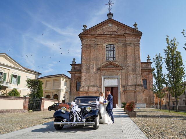 Il matrimonio di Andrea e Noemy a Robbio, Pavia 42