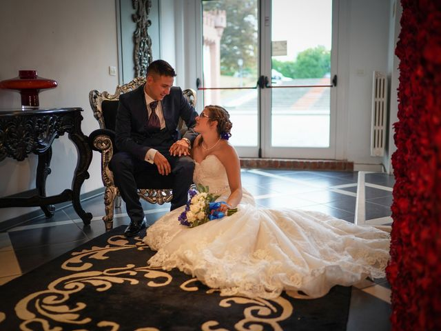 Il matrimonio di Andrea e Noemy a Robbio, Pavia 56