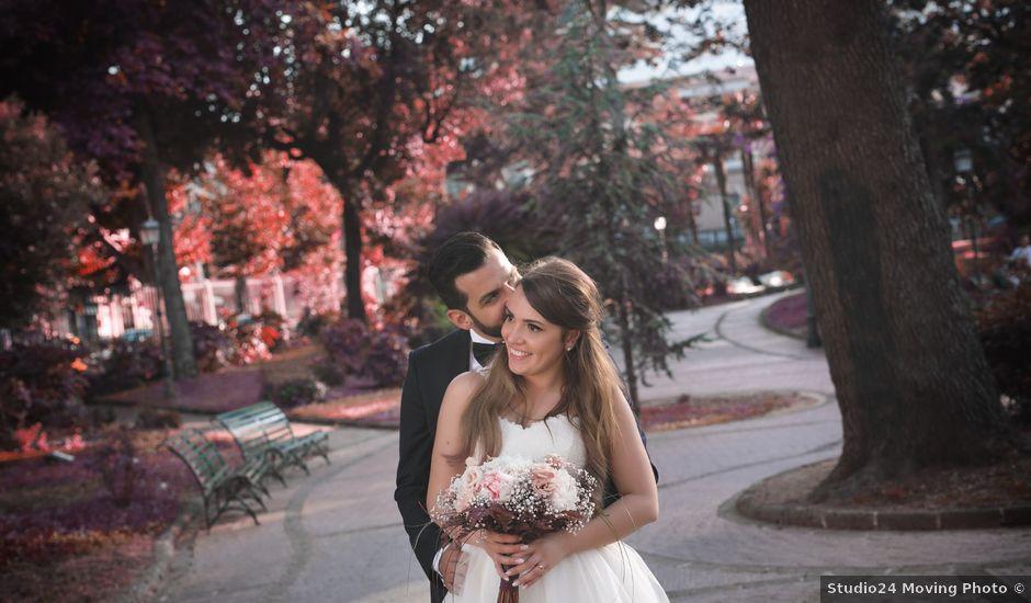 Il matrimonio di Michele e Simona a Pompei, Napoli