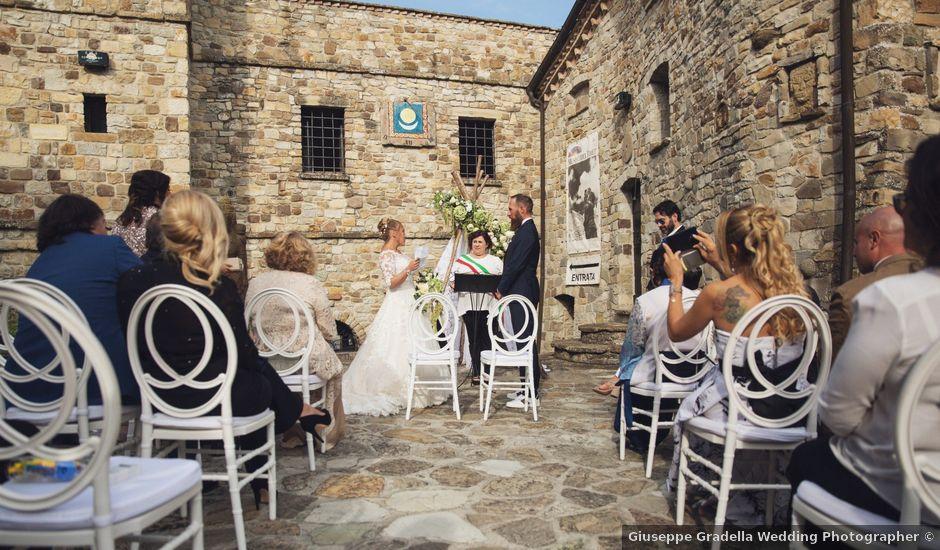 Il matrimonio di Damiano e Veronica a Canossa, Reggio Emilia