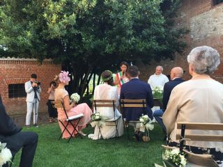 Le nozze di Roberta e Denis