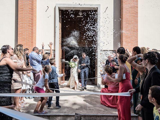 Il matrimonio di Mirko e Elisa a Massarosa, Lucca 33